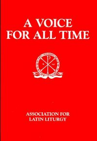 Cover - A Voice for All Time
